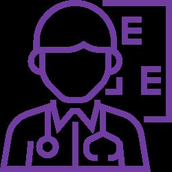 Εικονόγραμμα του οφθαλμίατρου